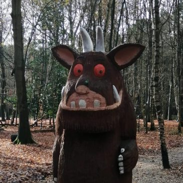Gruffalo trail at Thorndon Country Park