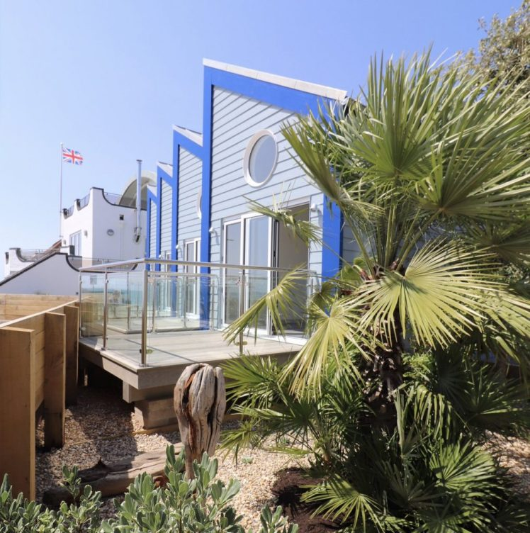 Beach Hut Suites at The Beachcroft Hotel, Felpham