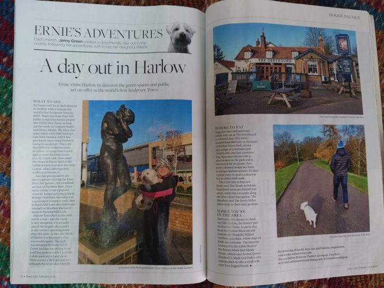 Ernie's Essex Life column about Harlow