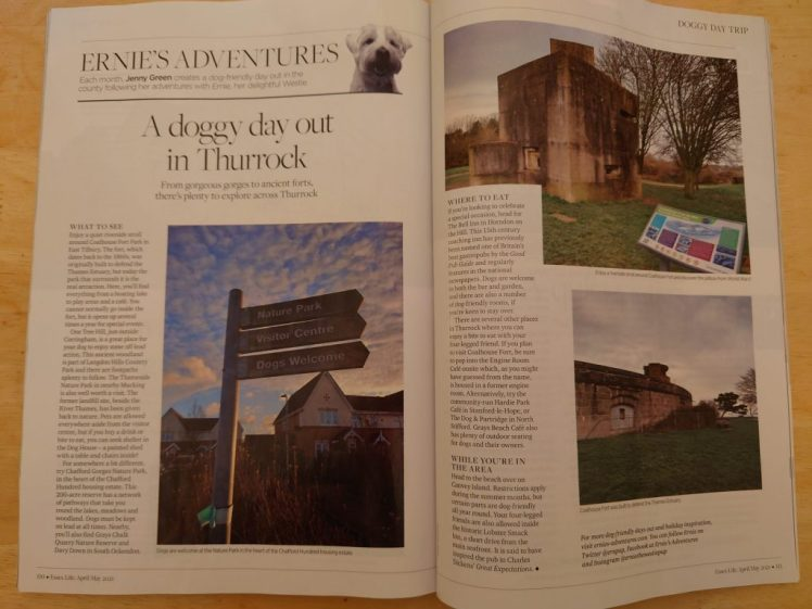 Ernie's Essex Life column about Thurrock