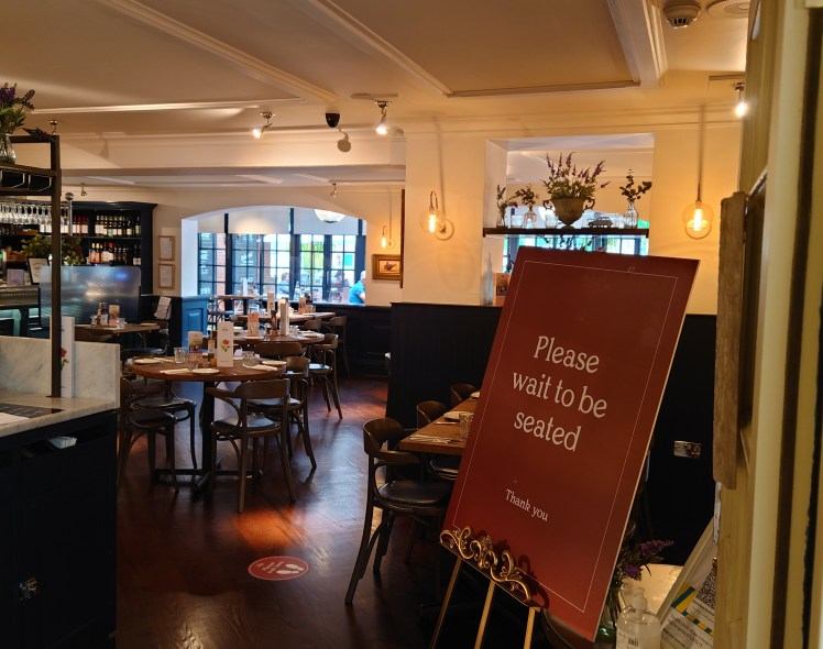 Le Bistrot Pierre at the Swan's Nest Hotel, Stratford-upon-Avon