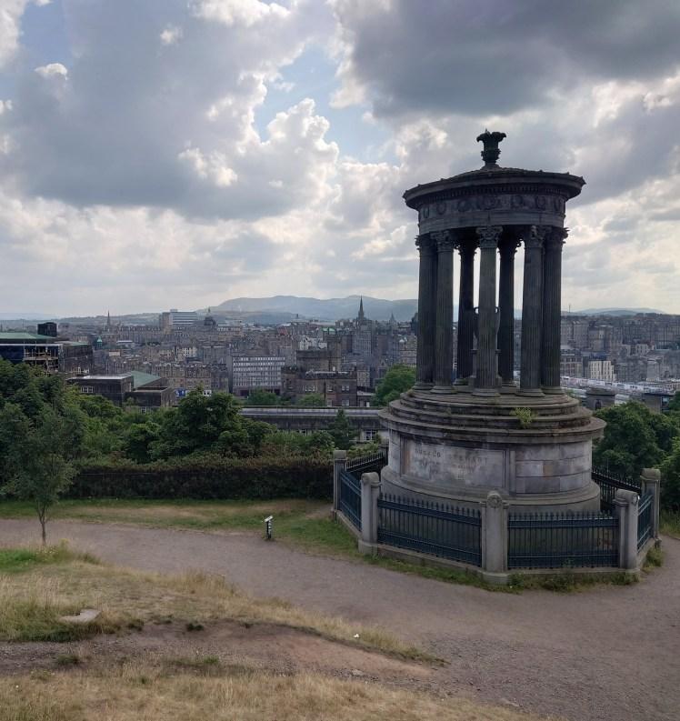City view from Calton Hill, Edinburgh