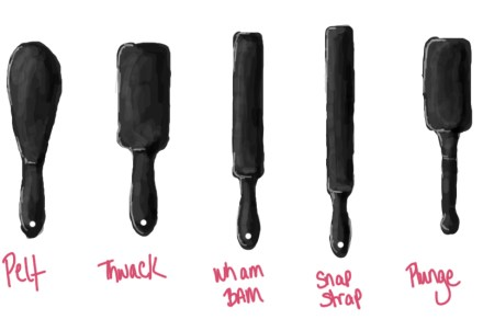 tantus paddles drawing