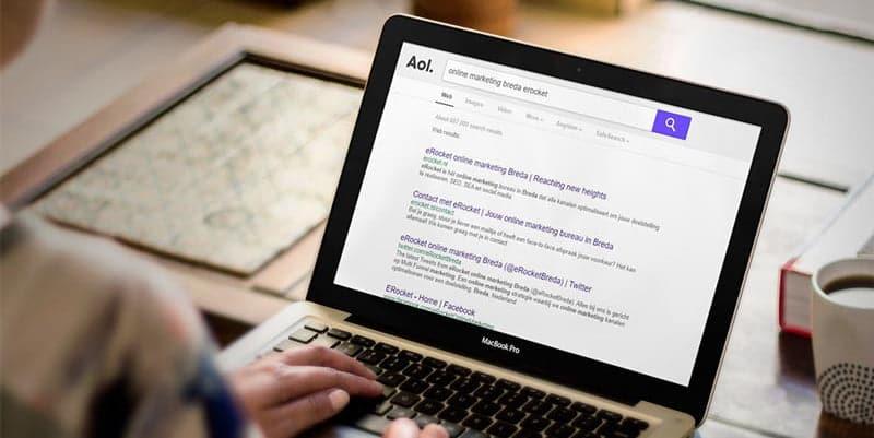 AOL search als alternatief voor Google