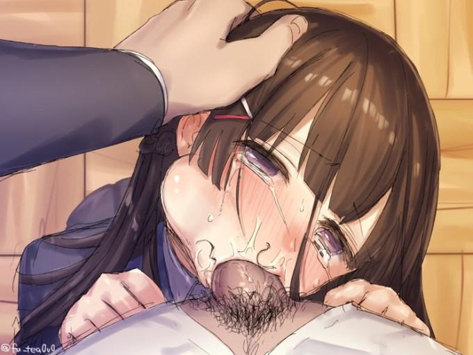 128 - 【二次】涙を流して泣いている女の子のエロ画像 Part1