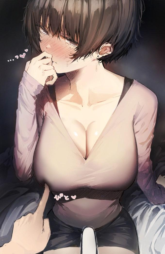 5のエロ画像30 - 【二次】乳首責めされて感じてる女の子がエロすぎる Part5【画像】