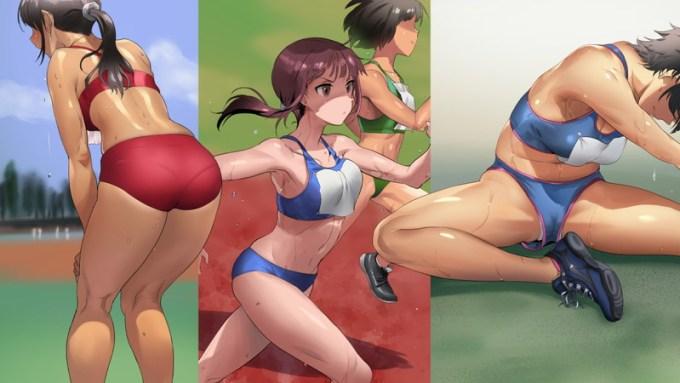 6の二次エロ画像13 - 【二次】運動用のスポーツウェアを着た女の子のエロ画像 Part6