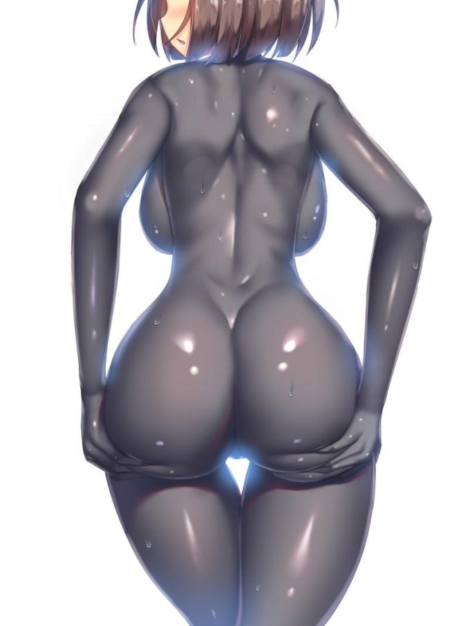 16の二次エロ画像05 - 【二次】身体に張り付くピチピチ衣装の女の子のエロ画像 Part16
