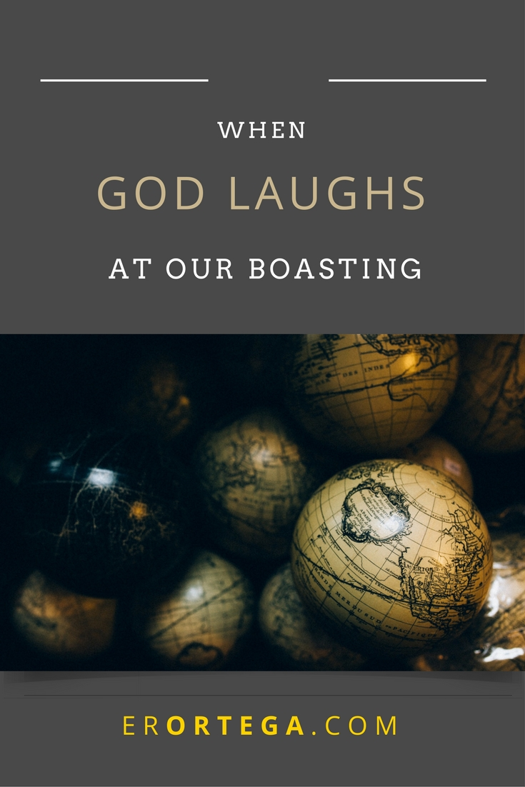 Did you know that God laughs at our boasting of power? Read and reflect here.