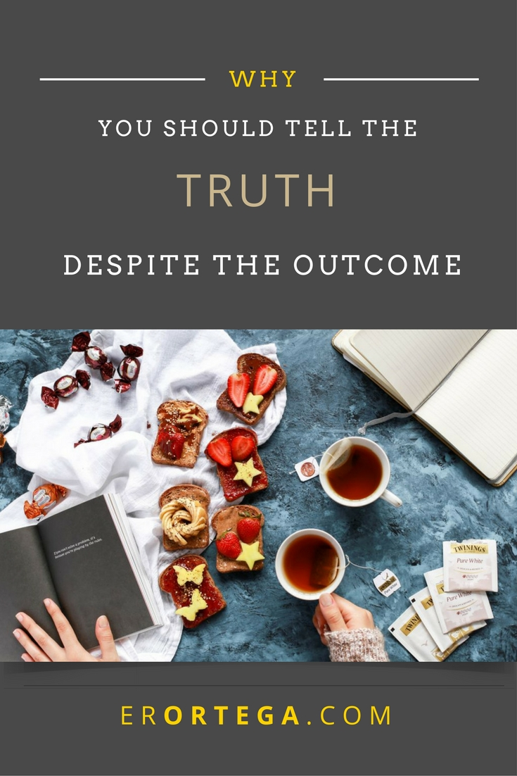 Why you should tell the truth despite the outcome. Have you ever admonished a fellow Christian and have been surprised to hear that they no longer wants to listen to truth? Click to read and respond.