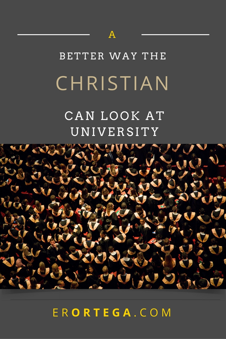 I have my regrets about attending University. As a Christian, the academe gives me more to think about, more to be convicted about. Read my unpopular thoughts here and respond.