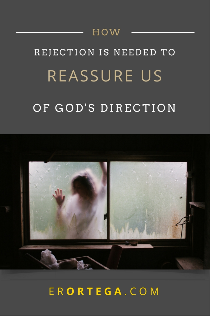 We never see God's big picture. When rejection comes, we need to see how it may be a reassurance of God's direction for our lives. Have you ever wondered that maybe a closed door is a way for you to see that less wanting is necessary to live a life for Christ, and more saying no to things you think are needed is actually best? Read more here. Share far and wide.