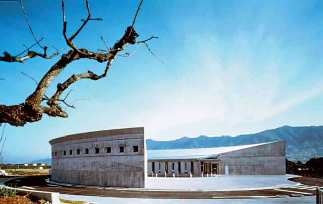 Flower Hill Museum (1999), спроектированный Кисё Курокавой
