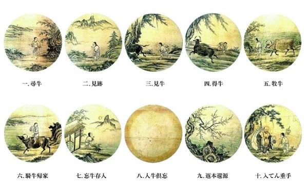 Картины пастьбы быка