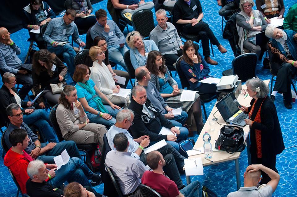 Сюзанна Кук-Гройтер на Интегральной европейской конференции (Будапешт, Венгрия, 2014)