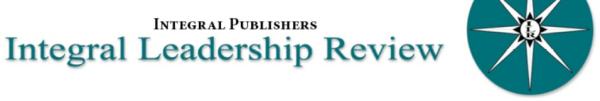 Integral Leadership Review — Обозрение интегрального лидерства