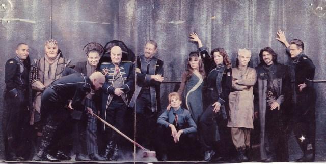 Актёры культового фантастического телесериала «Вавилон 5».