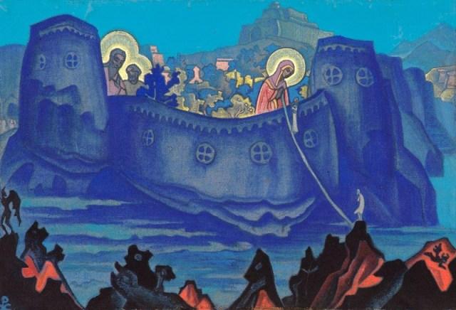 Николай Рерих, «Madonna Laboris» (1933).