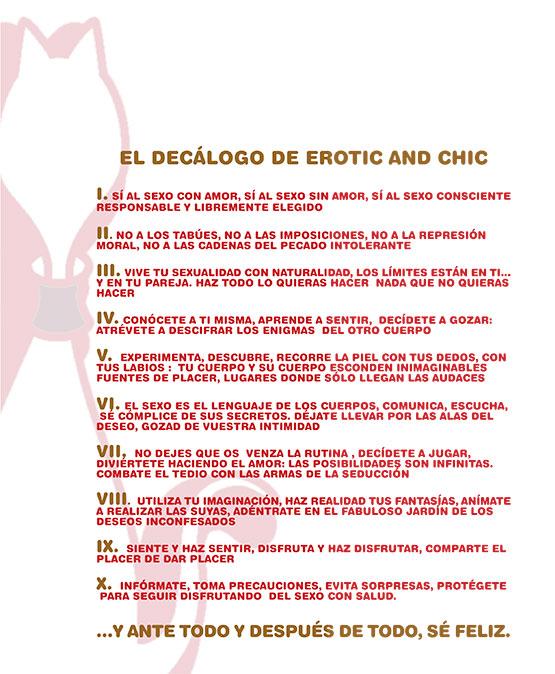 Decálogo Erotic and Chic