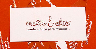 Tarjetas Erotic and Chic