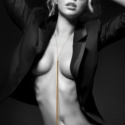 Collar/látigo de cadenas metálicas Magnifique