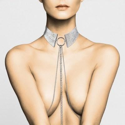 Désir - Collar metálico plata BIJOUX Indiscrets