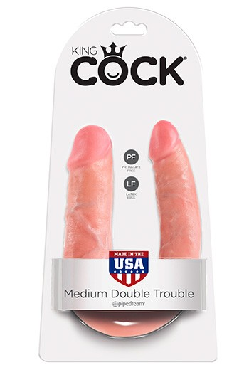Double Trouble Real KING COCK