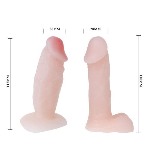 Passionate Harness Ten Rengi Belden Bağlamalı Penis