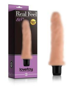 Reel Feel 20cm Titreşimli Realistik Vibratör Gerçekci Penis Dildo