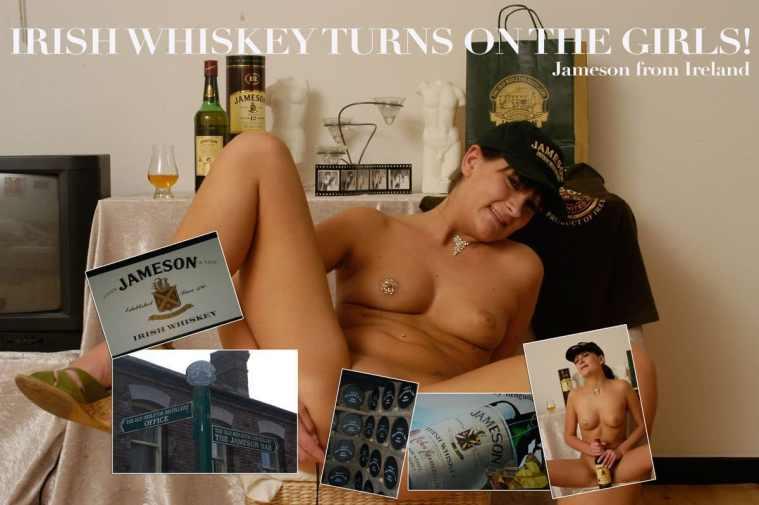 Irish whiskey turns on the girls!