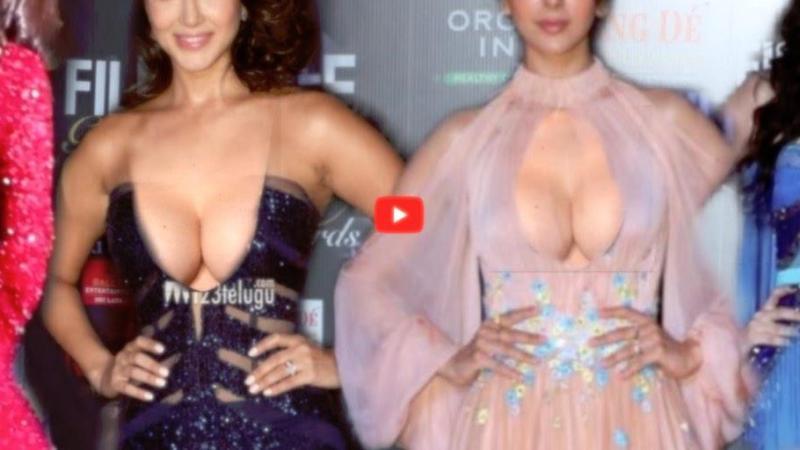 Kendte stjerner viser bryster for at blive mere kendt (VIDEO)