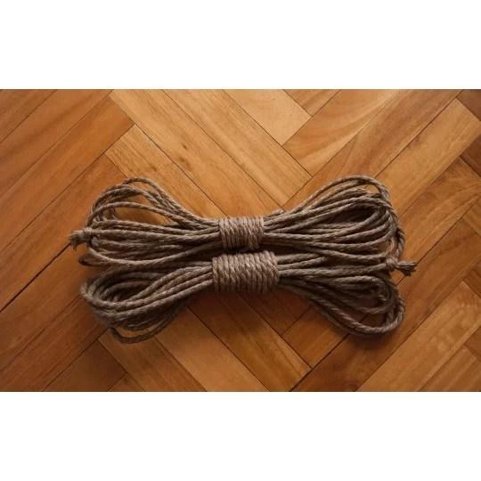 cuerdas de shibari