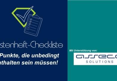 Lastenheft-Checkliste von asseco: 8 Punkte, die in einem Lastenheft enthalten sein müssen!