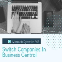 Switch Companies in Dynamics 365