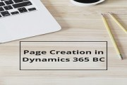 Page Creation In Microsoft Dynamics 365 BC