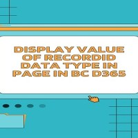 How to display Value of RECORDID Data Type in Page in BC D365