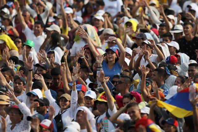Latinoamérica unida: La FOTO de Guaidó junto a los presidentes desde el Venezuela Aid Live
