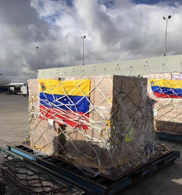 Autoridades de Curazao bloquearon la entrada de los contenedores con la ayuda humanitaria