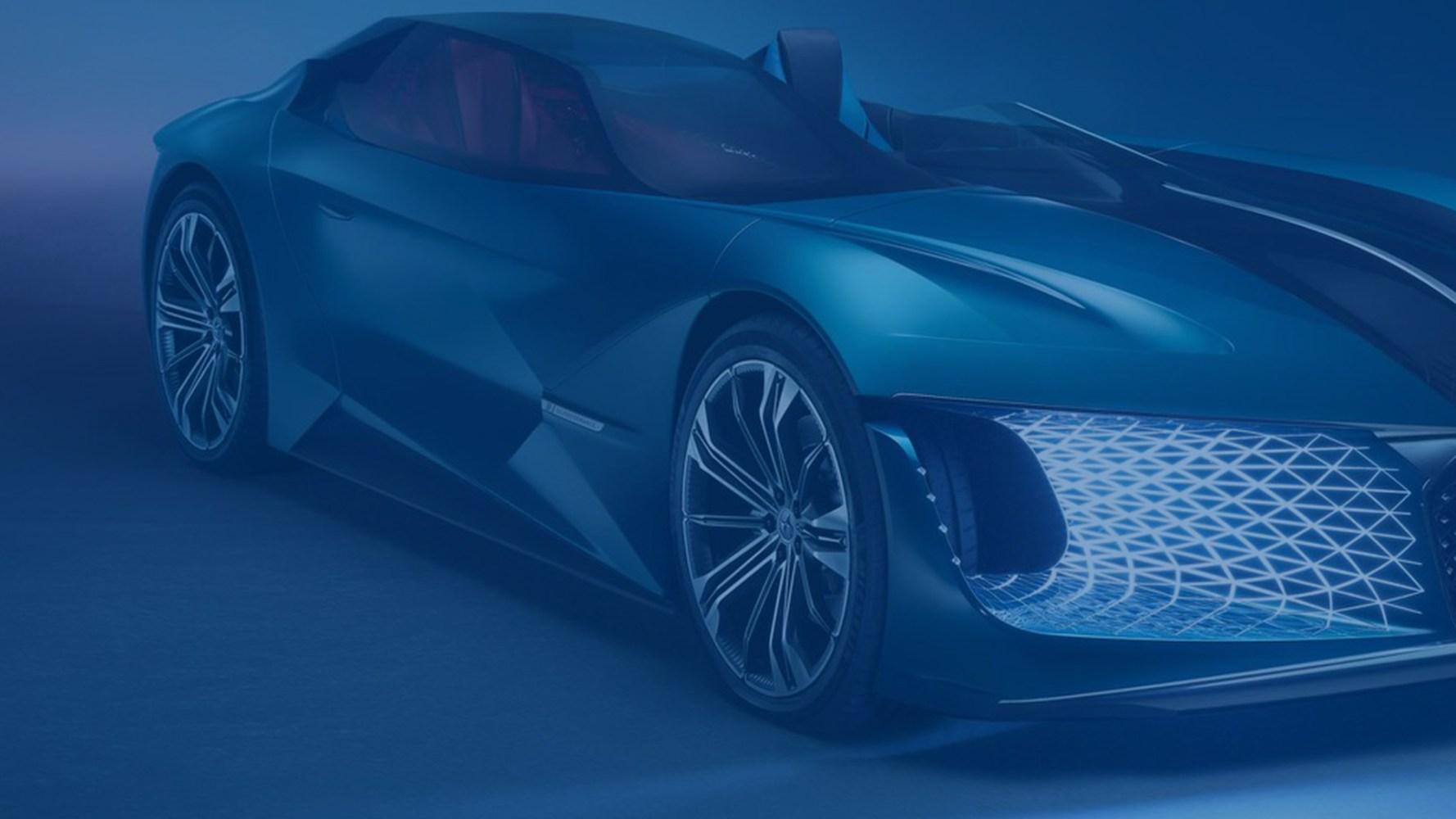 Concept CAR DS X E-tense