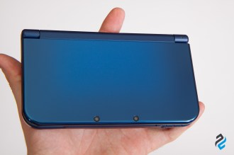 new 3DS XL w dłoni