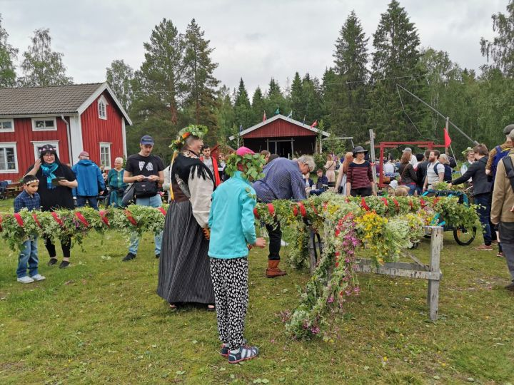 Swedish Midsommar celebration