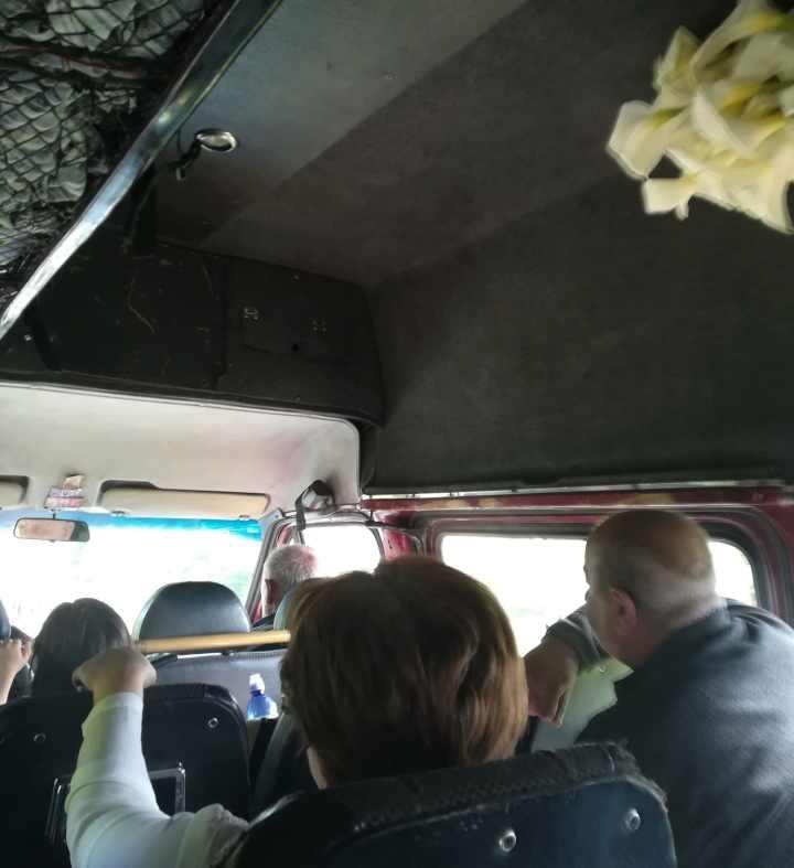 The chaos of marshrutkas, Georgian public minivans