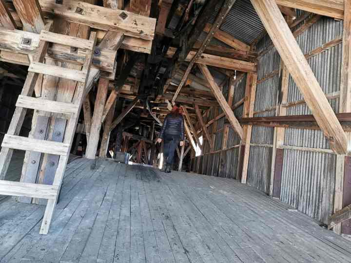 abandoned coal mine