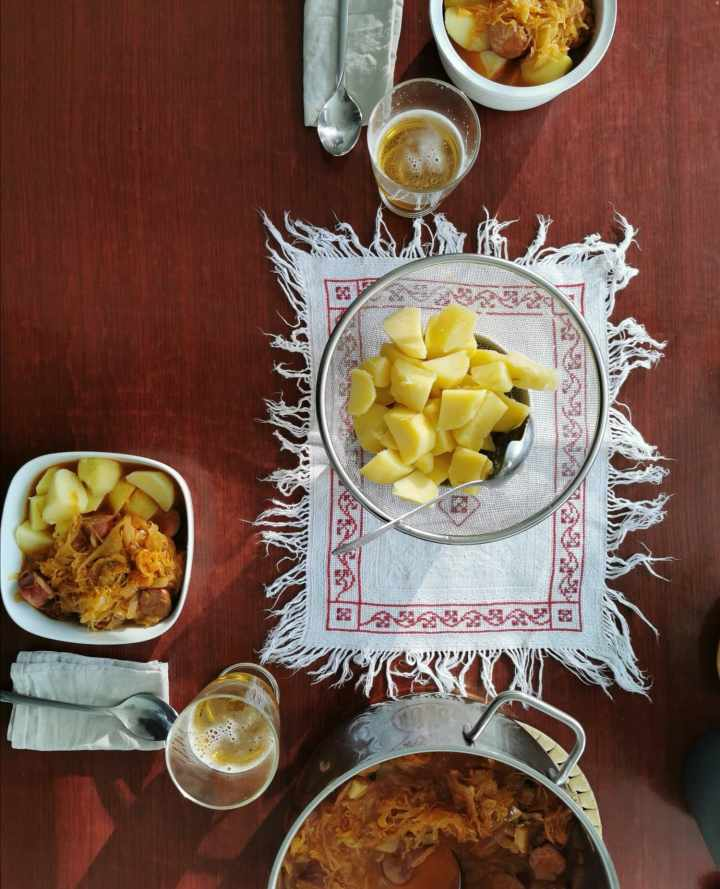 Recipes: My take on jota and segedin (Slovenian winter classics)