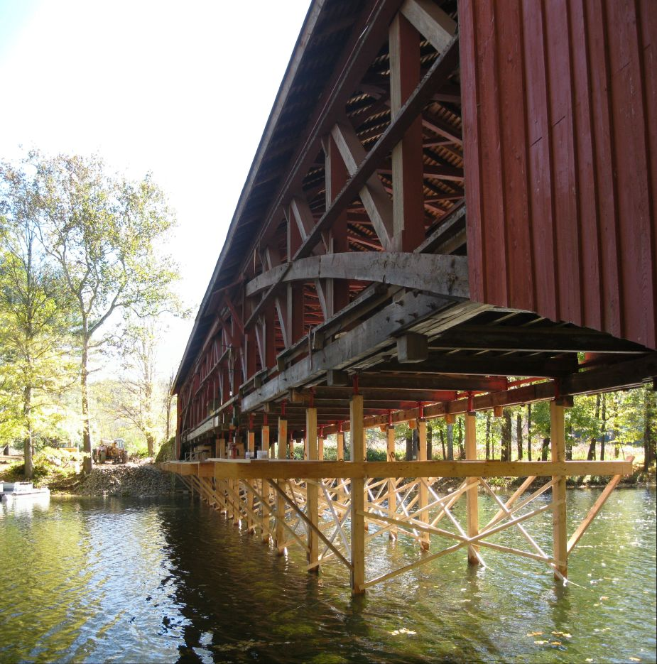 What the Covered Bridge Reveals About Our Struggle Against Nature