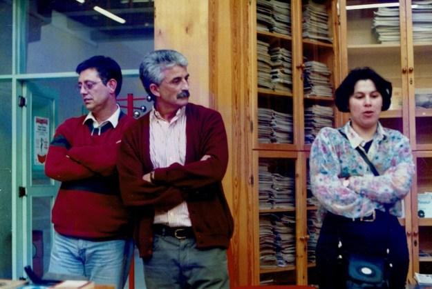 Xosé Manuel Pazos, Antón Lamapereira e Alba Cordeiro