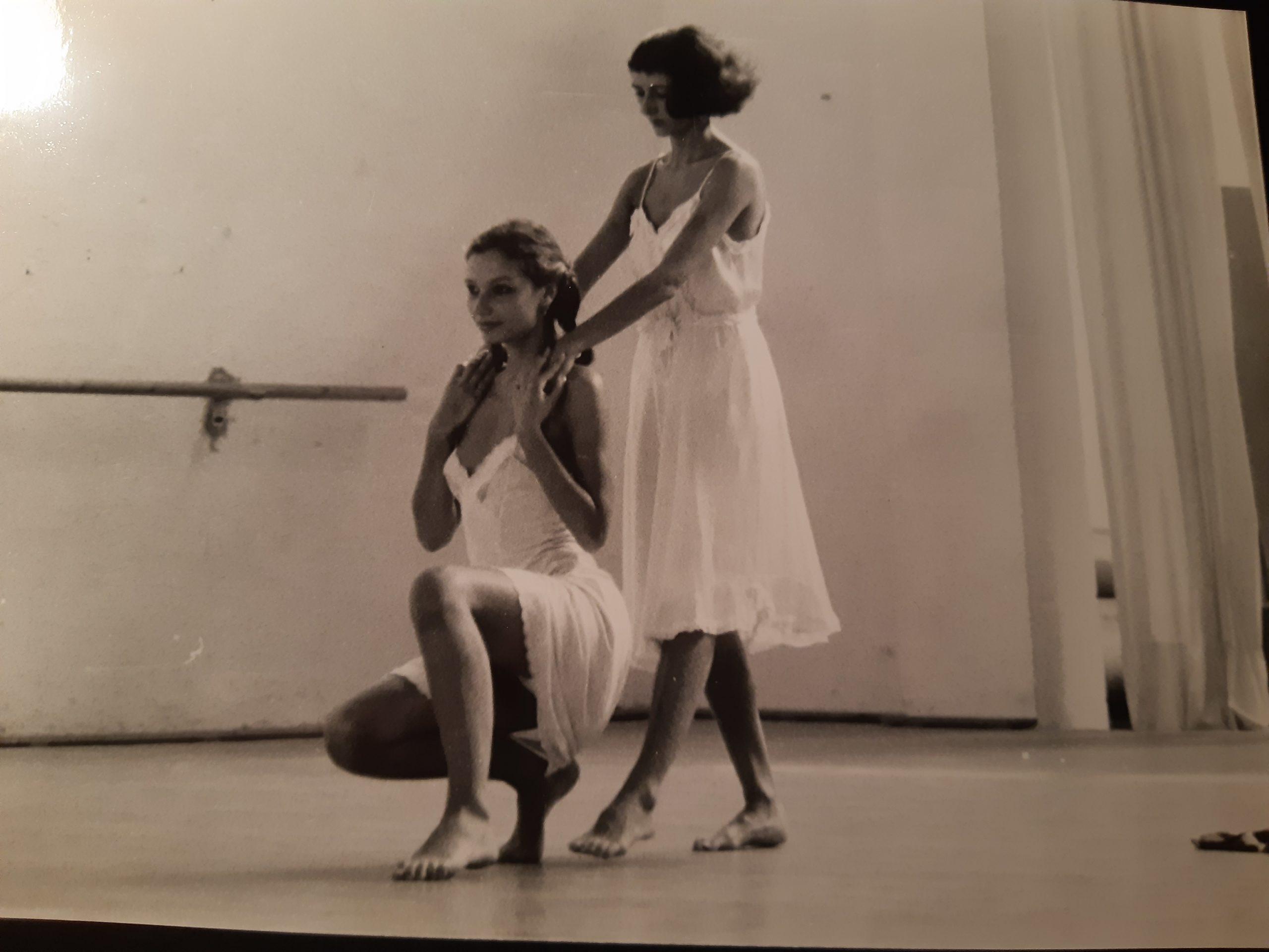 Obradoiro de coreografía con Cesc Gelabert. La Fábrica. Barcelona, 1983
