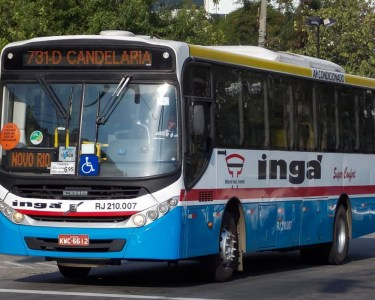 ônibus ingá