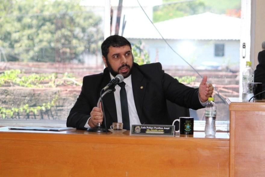 Vereador Felipe Auni
