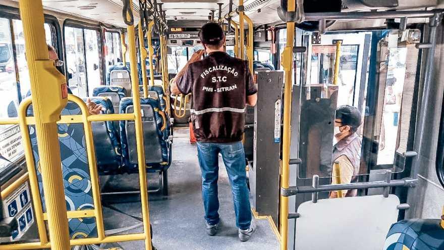 Fiscalização ônibus Itaboraí